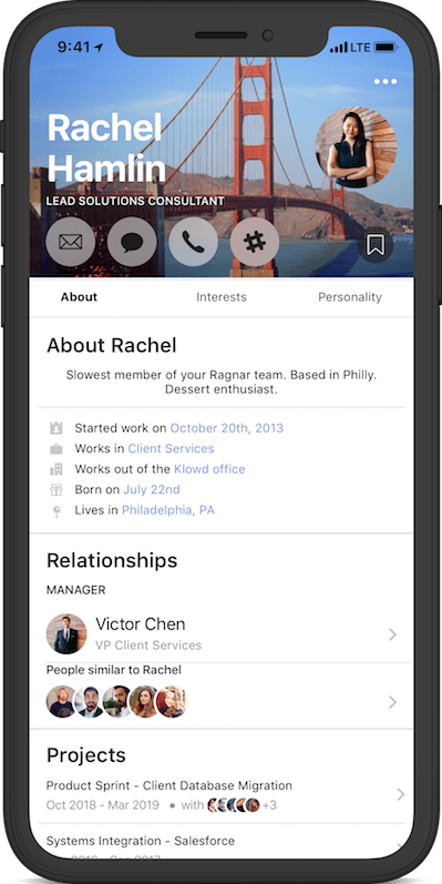 Rachel - flat iphone x